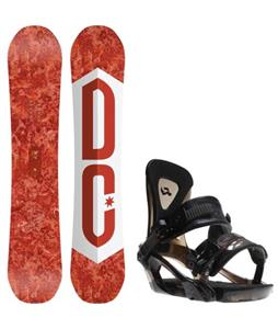 DC Ply Snowboard w/ Ride KX Bindings