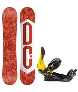 DC Ply Snowboard w/ Rome Arsenal Bindings