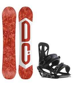 DC Ply Snowboard w/ Rome United Bindings