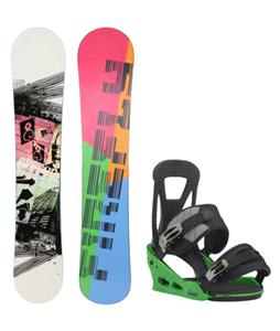 Firefly Beacon Snowboard w/ Burton Freestyle Re:Flex Bindings