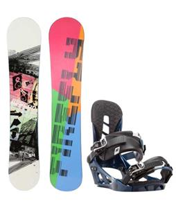 Firefly Beacon Snowboard w/ K2 Indy Bindings
