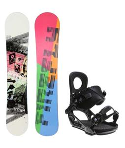 Firefly Beacon Snowboard w/ K2 Lien AT Bindings