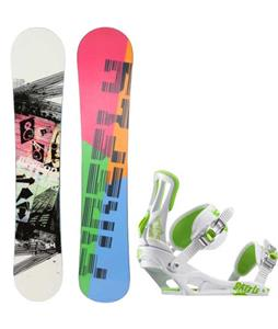 Firefly Beacon Snowboard w/ Rossignol Battle Bindings