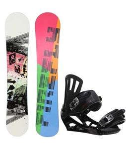 Firefly Beacon Snowboard w/ Rossignol Battle V1 Bindings