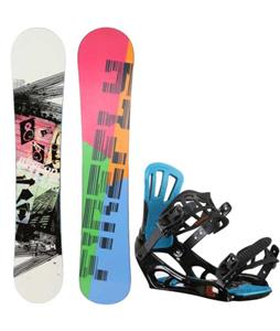 Firefly Beacon Snowboard w/ Rossignol Battle V2 Bindings