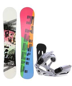 Firefly Beacon Snowboard w/ Sapient Stash Bindings