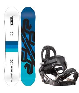 K2 Bottle Rocket Snowboard w/ K2 Sonic Bindings