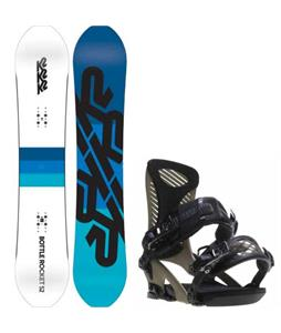 K2 Bottle Rocket Snowboard w/ Ride Capo Bindings