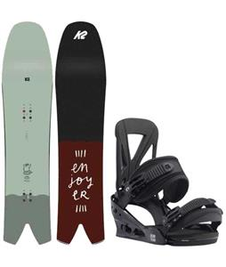 K2 Cool Bean Snowboard w/ Burton Custom Re:Flex Bindings