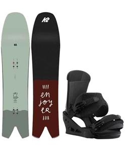 K2 Cool Bean Snowboard w/ Burton Custom Bindings