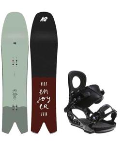 K2 Cool Bean Snowboard w/ K2 Lien AT Bindings