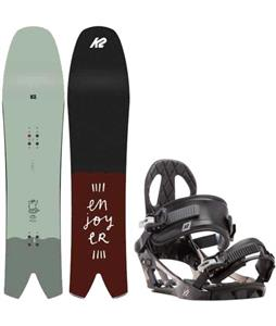K2 Cool Bean Snowboard w/ K2 Sonic Bindings