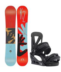 K2 Fastplant Snowboard w/ Burton Custom Re:Flex Bindings