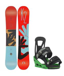 K2 Fastplant Snowboard w/ Burton Freestyle Re:Flex Bindings