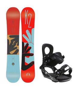 K2 Fastplant Snowboard w/ K2 Lien AT Bindings