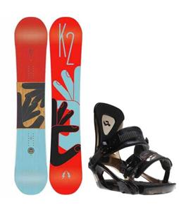 K2 Fastplant Snowboard w/ Ride KX Bindings