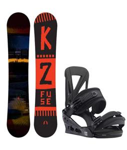 K2 Fuse Snowboard w/ Burton Custom Re:Flex Bindings