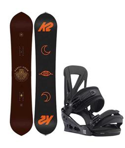 K2 Happy Hour Snowboard w/ Burton Custom Re:Flex Bindings