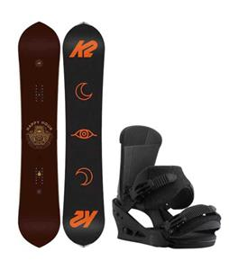 K2 Happy Hour Snowboard w/ Burton Custom Bindings