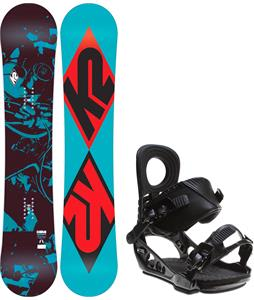 K2 Standard Snowboard w/ K2 Lien AT Bindings