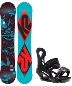 K2 Standard Snowboard w/ Ride LX Bindings