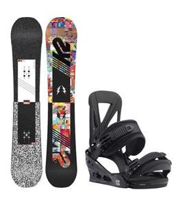 K2 Subculture Snowboard w/ Burton Custom Re:Flex Bindings
