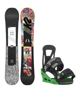 K2 Subculture Snowboard w/ Burton Freestyle Re:Flex Bindings