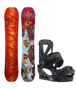 K2 WWW LTD Snowboard w/ Burton Custom Re:Flex Bindings