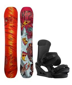 K2 WWW LTD Snowboard w/ Burton Custom Bindings