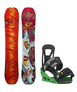 K2 WWW LTD Snowboard w/ Burton Freestyle Re:Flex Bindings