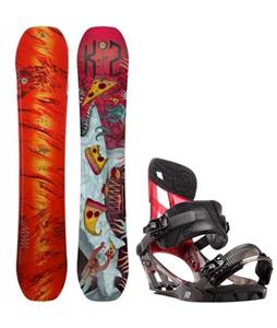 K2 WWW LTD Snowboard w/ K2 Hurrithane Bindings