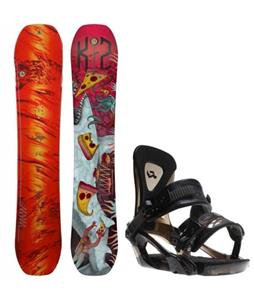 K2 WWW LTD Snowboard w/ Ride KX Bindings