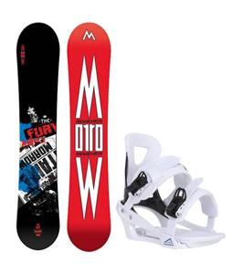 Morrow Fury Wide Snowboard w/ Chamonix Savoy Bindings