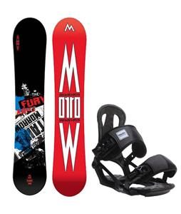 Morrow Fury Wide Snowboard w/ Head NX One Bindings