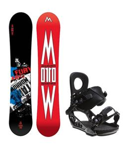 Morrow Fury Wide Snowboard w/ K2 Lien AT Bindings