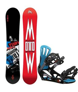 Morrow Fury Wide Snowboard w/ Rossignol Battle V2 Bindings