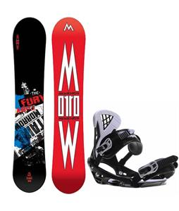 Morrow Fury Wide Snowboard w/ Sapient Wisdom Bindings