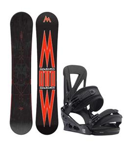 Morrow Truth Snowboard w/ Burton Custom Re:Flex Bindings