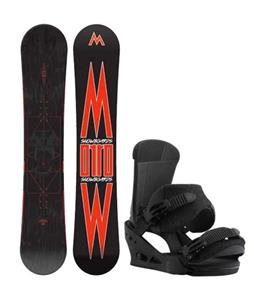 Morrow Truth Snowboard w/ Burton Custom Bindings