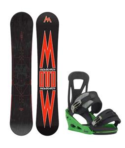 Morrow Truth Snowboard w/ Burton Freestyle Re:Flex Bindings