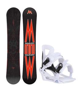 Morrow Truth Snowboard w/ Chamonix Savoy Bindings