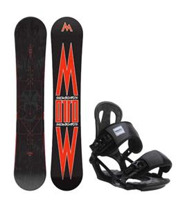 Morrow Truth Snowboard w/ Head NX One Bindings