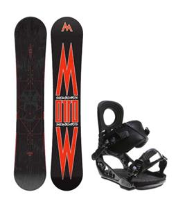 Morrow Truth Snowboard w/ K2 Lien AT Bindings
