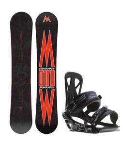 Morrow Truth Snowboard w/ Rome United Bindings