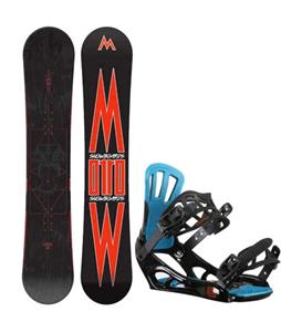 Morrow Truth Snowboard w/ Rossignol Battle V2 Bindings