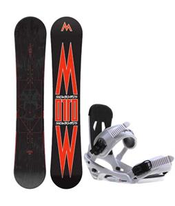 Morrow Truth Snowboard w/ Sapient Stash Bindings