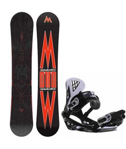 Morrow Truth Snowboard w/ Sapient Wisdom Bindings