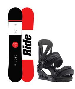 Ride Agenda Snowboard w/ Burton Custom Re:Flex Bindings