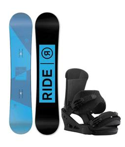 Ride Agenda Snowboard w/ Burton Custom Bindings