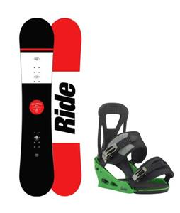 Ride Agenda Snowboard w/ Burton Freestyle Re:Flex Bindings